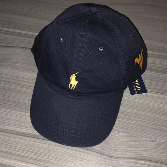 Polo Ralph Lauren navy hat with WVU logo 75f2d2de080d